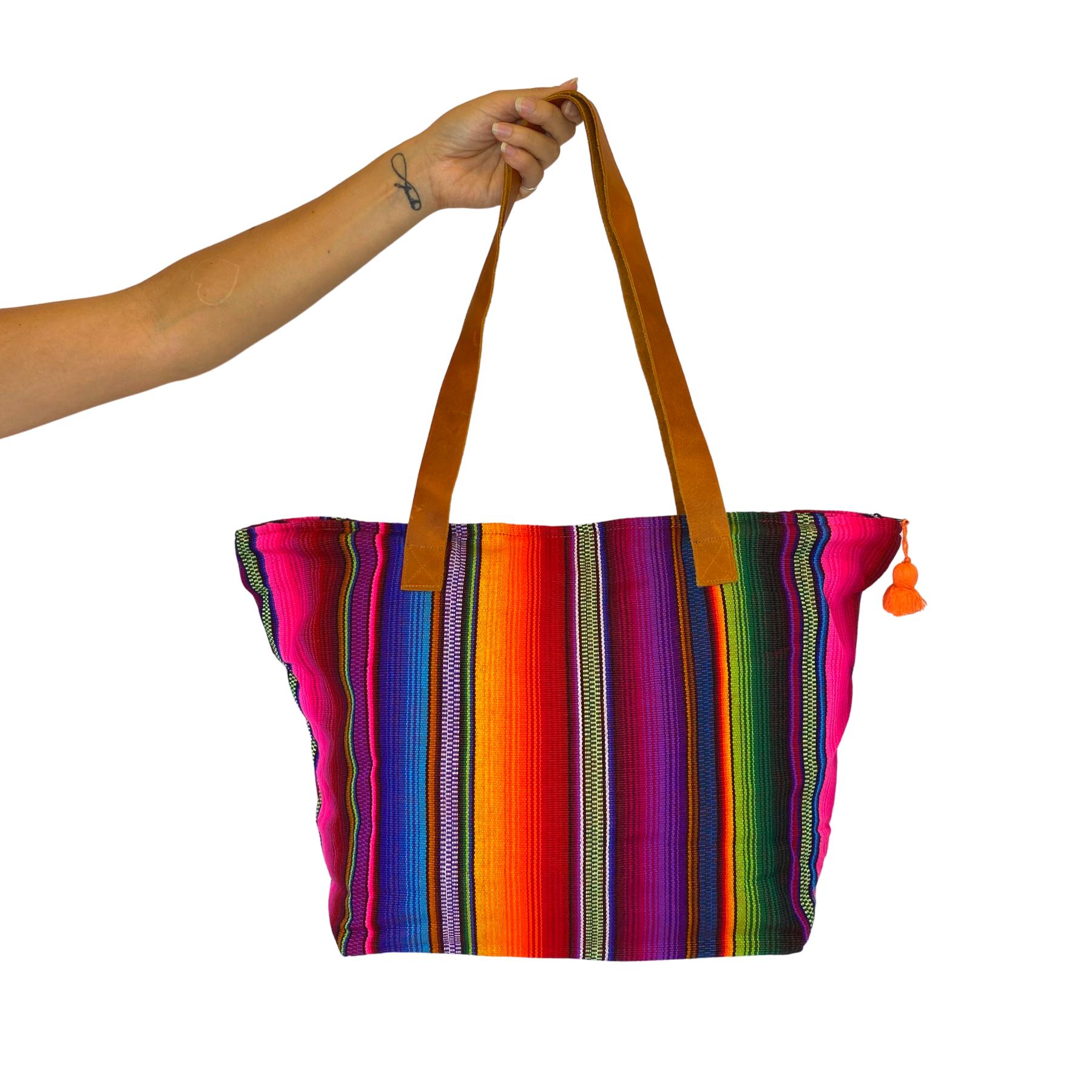 carry-all Tote bag Pueblo purse southwest design baby bag handbag knitting bag shopping tote