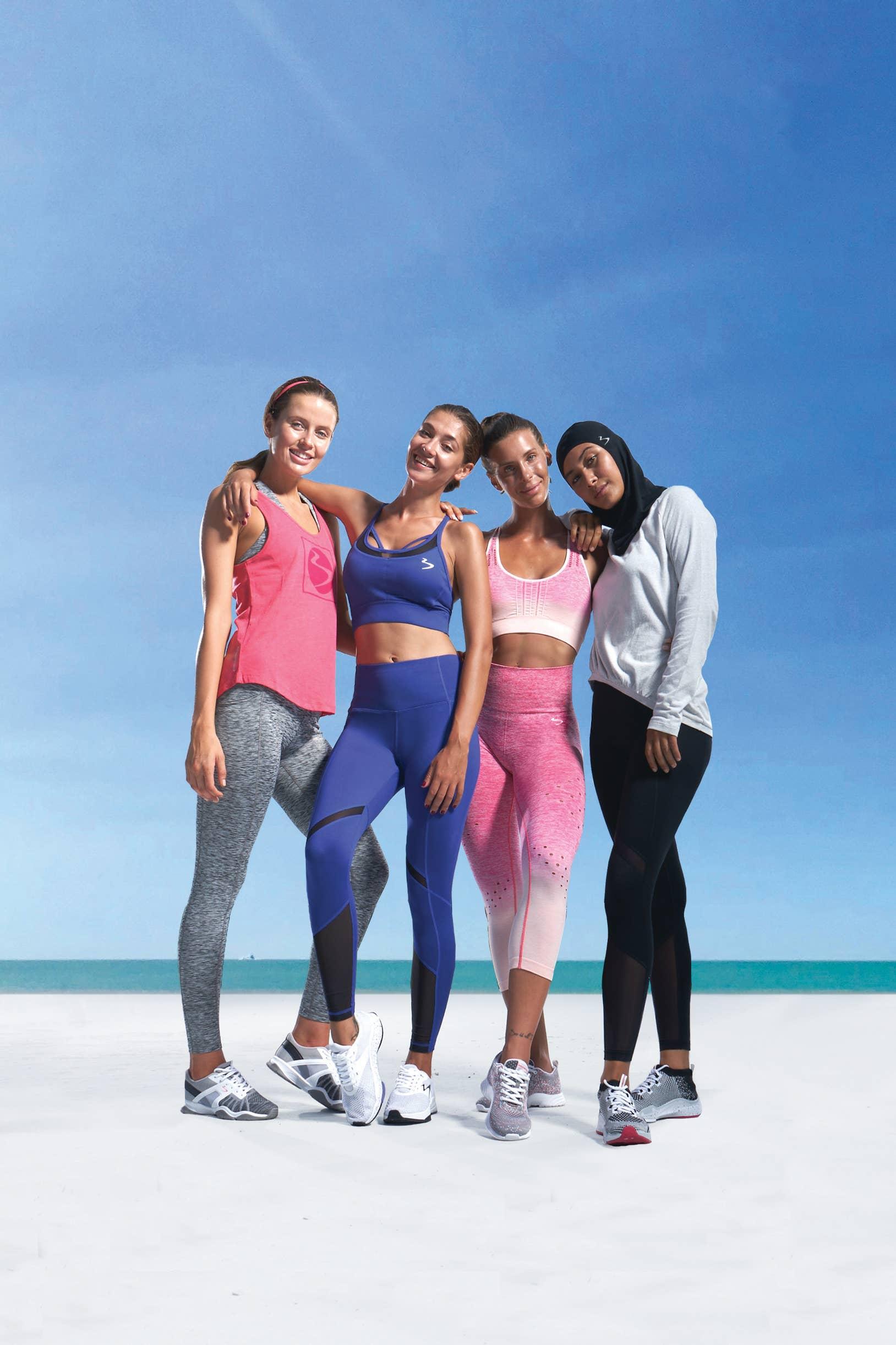 Beachbody Womens Ombre Long Tight H Rise