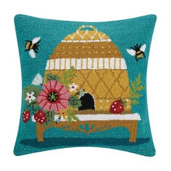 Christmas Bells Hook Pillow Faire Com