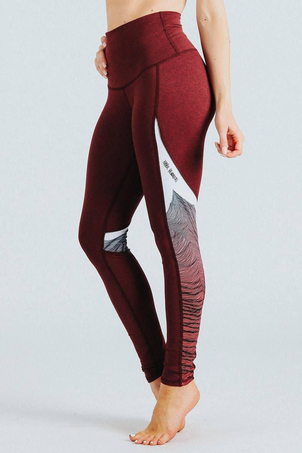 Yogavated Oracle Swoosh Legging Womens Active Workout Yoga Leggings