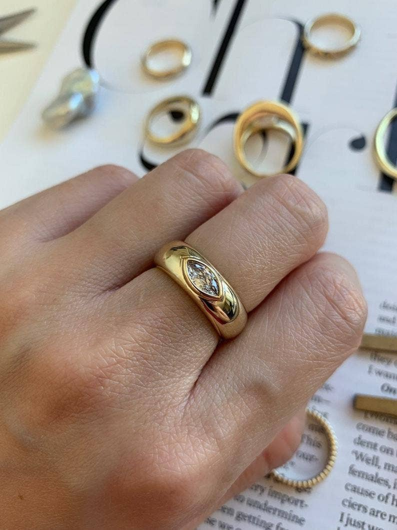 Gold Ring Settings Ring, Adjustable Cat Ring Jewelry Supplier Mountings Raw Brass Ring Wholesale Ring Brass Ring Findings