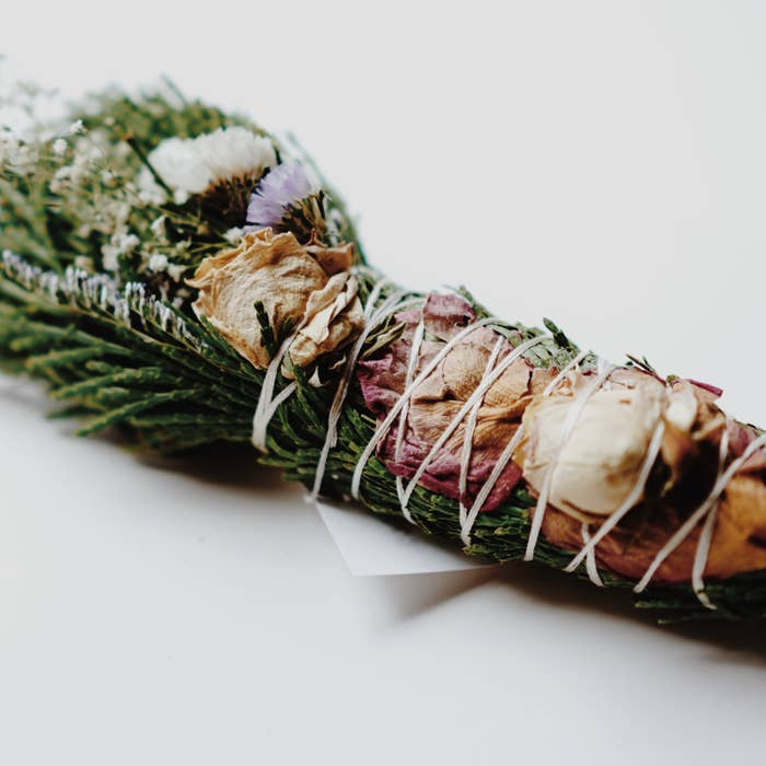 Among the Flowers – Floral Smudge Wands