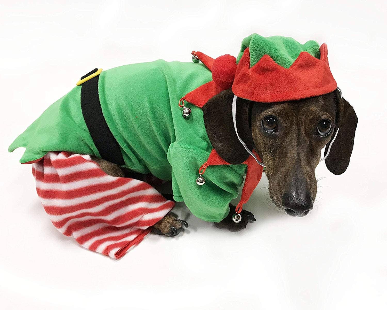 Midlee Tartan Plaid Christmas Large Dog Dress