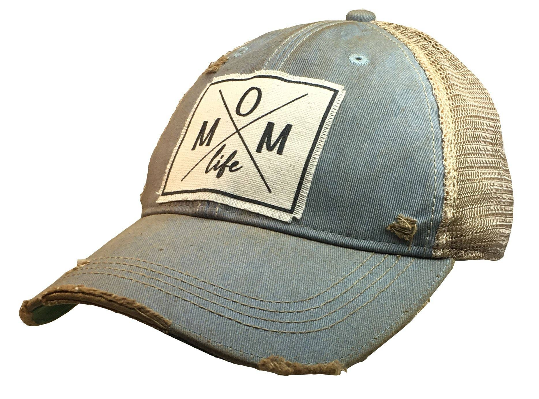 Life is Better On The Farm Mesh Baseball Caps Girls Adjustable Trucker Hat Sky Blue