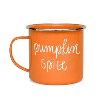 Hello Pumpkin Campfire Coffee Mug Faire Com