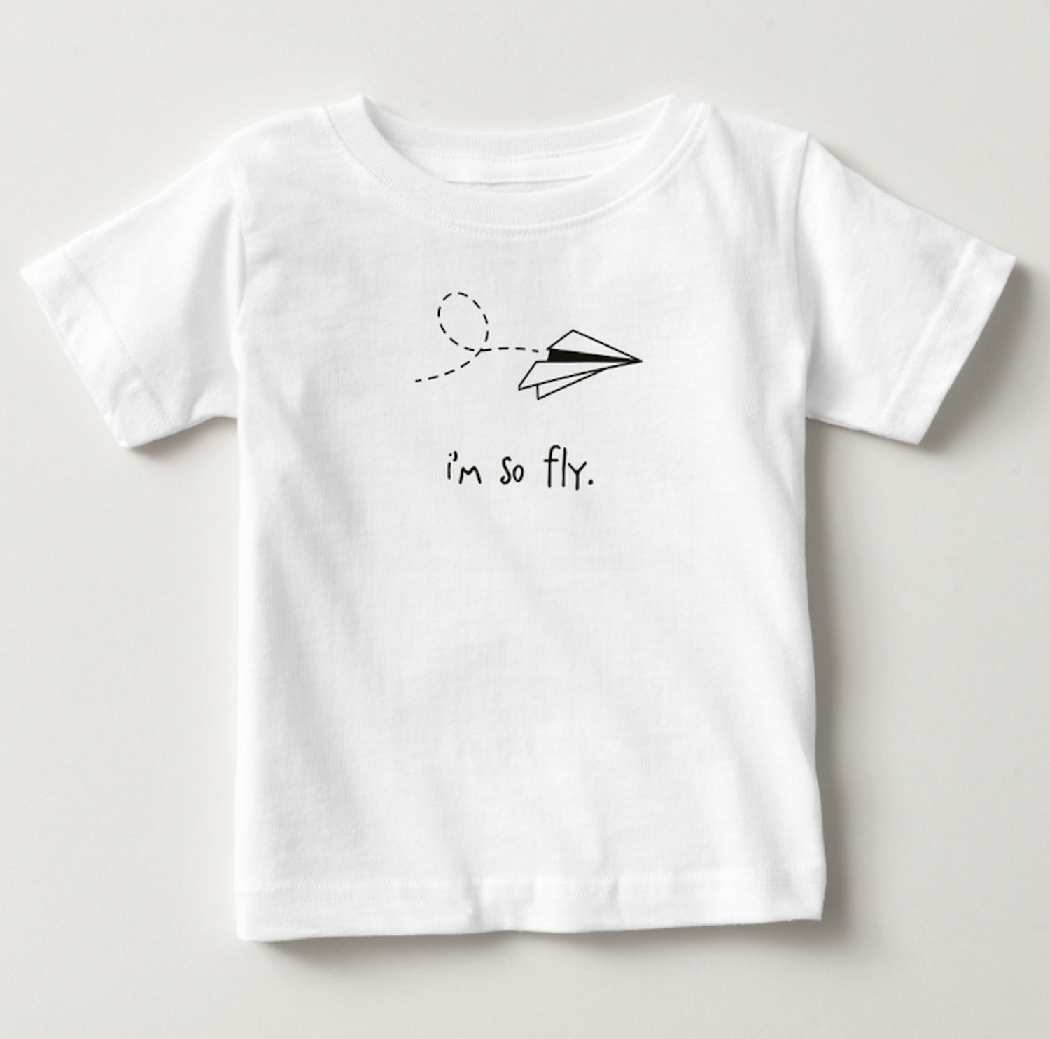 Silly Souls Inc I Have a Dream Infant Baby Boy Cotton Tee Black White