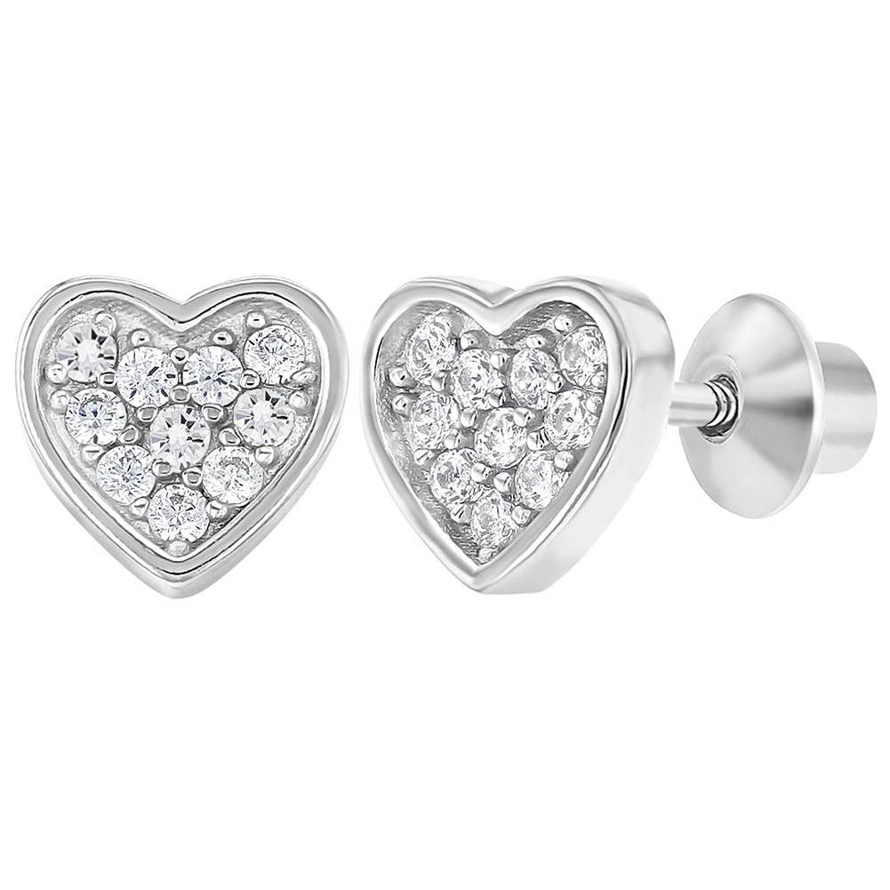 Mia Diamonds 925 Sterling Silver VT Small State Earring