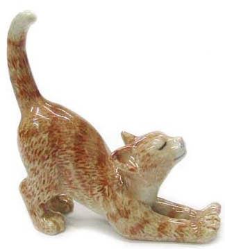 Northern Rose BOBCAT Miniature Porcelain Figurine