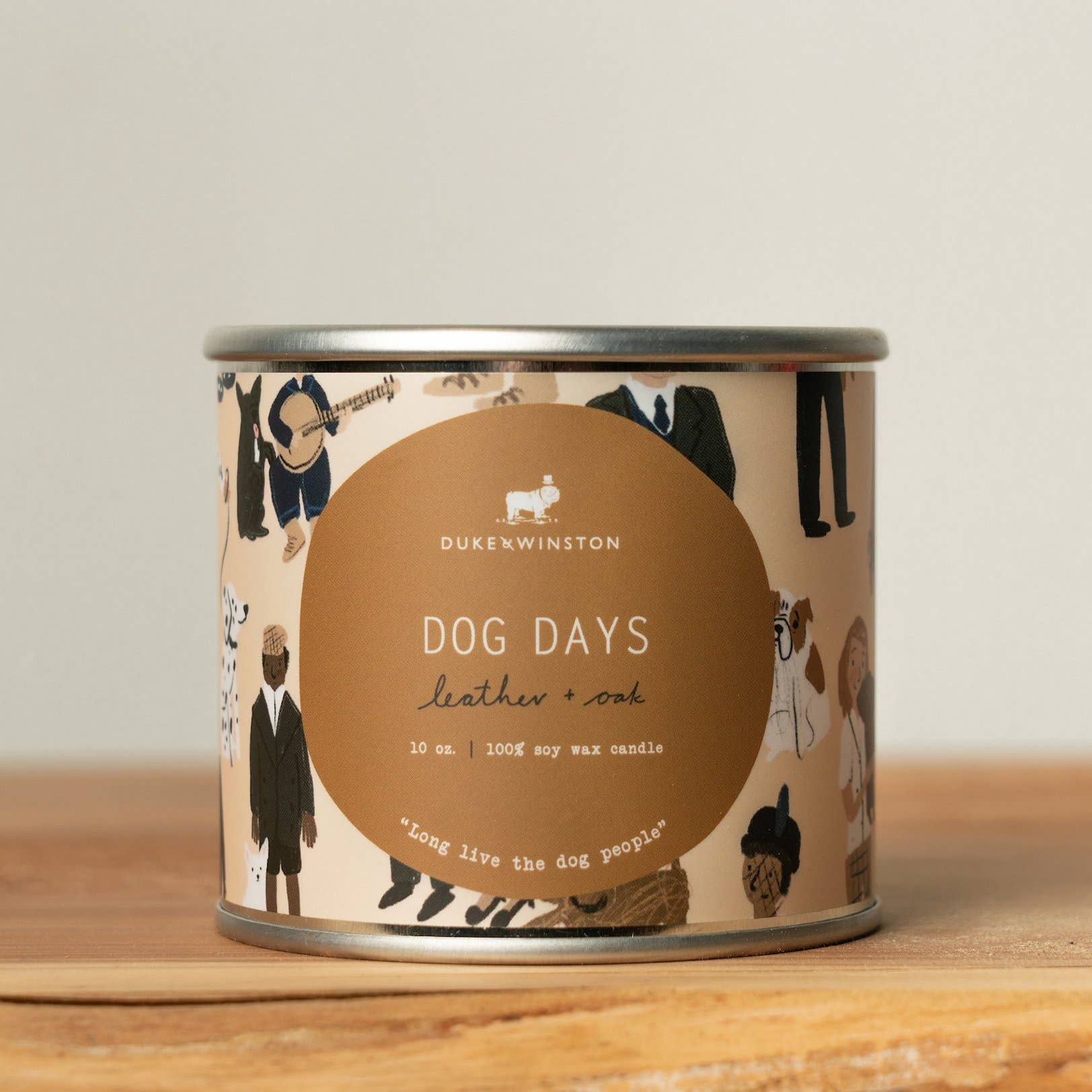 Caramel Macchiato Soy Candle in Gold or Silver Travel Tin