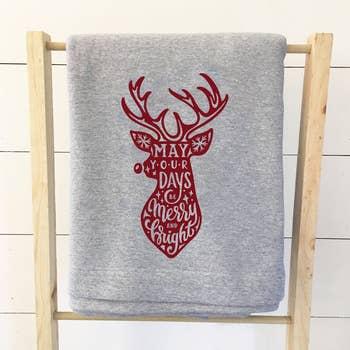 Give Thanks Sweatshirt Blanket Faire Com