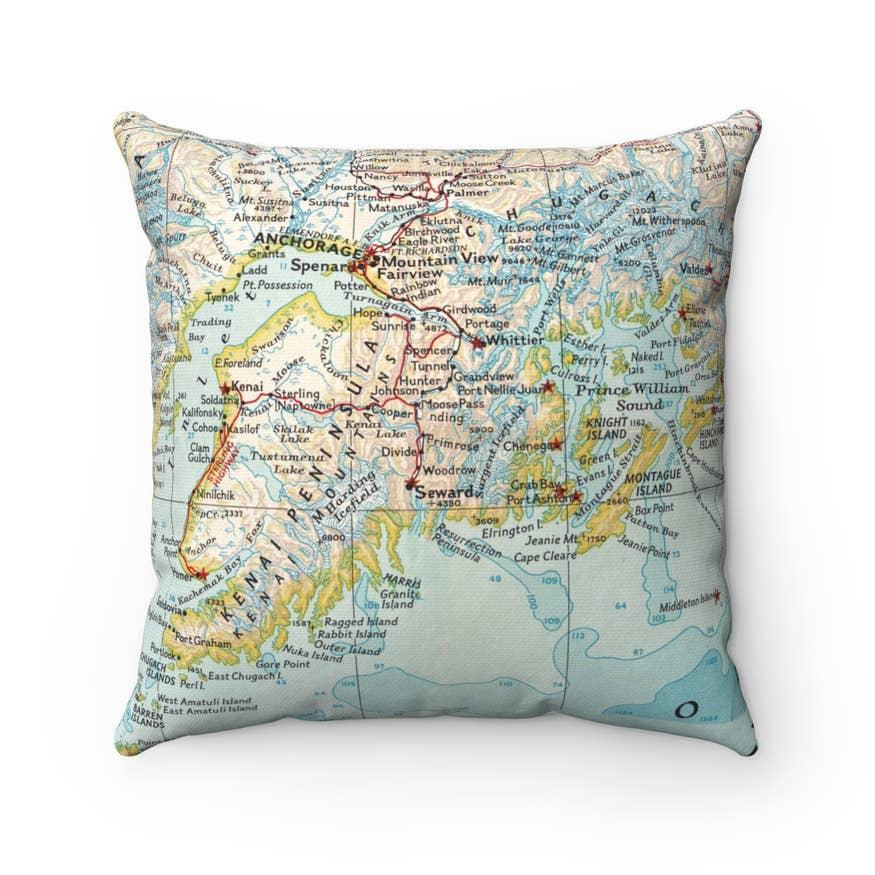White Bear Lake Minnesota Map Pillow Faire Com