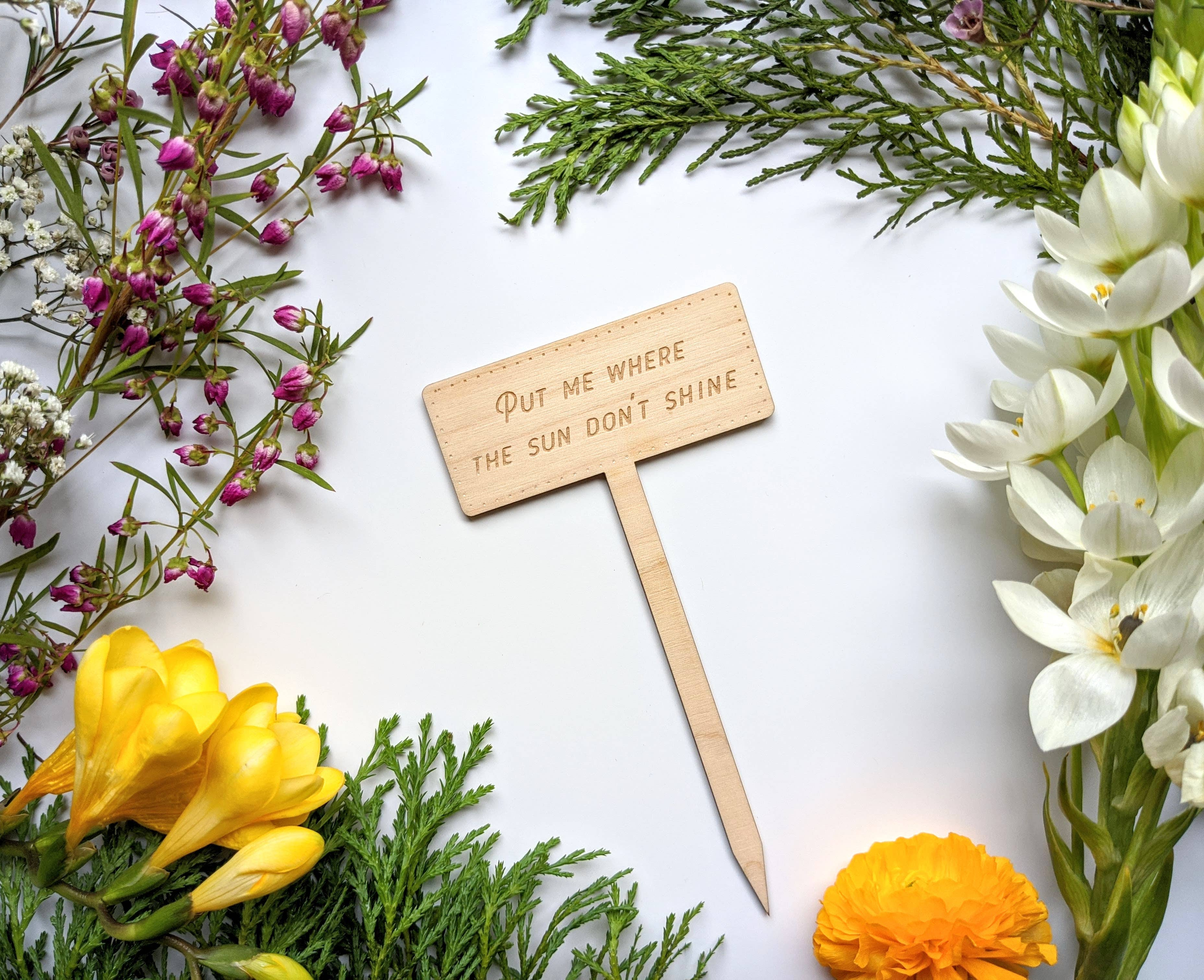 plant marker Please don\u2019t die