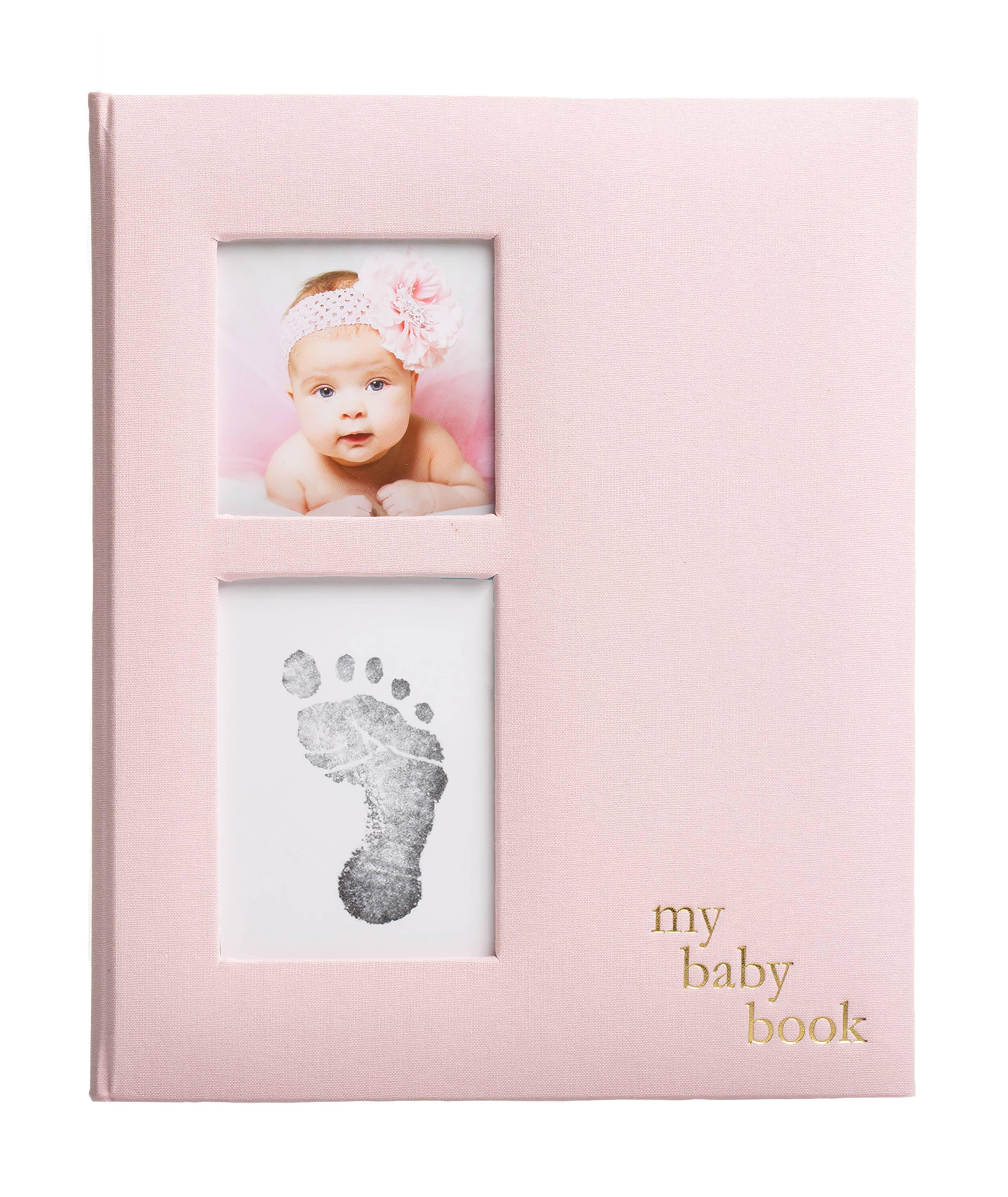 Pearhead Nursery Collection Babybook Pink