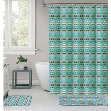 15 Pc Bath Mat Set Assorted Colors Faire Com