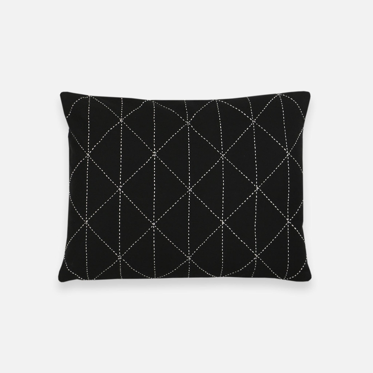 Small Graph Throw Pillow Cover Charcoal Faire Com