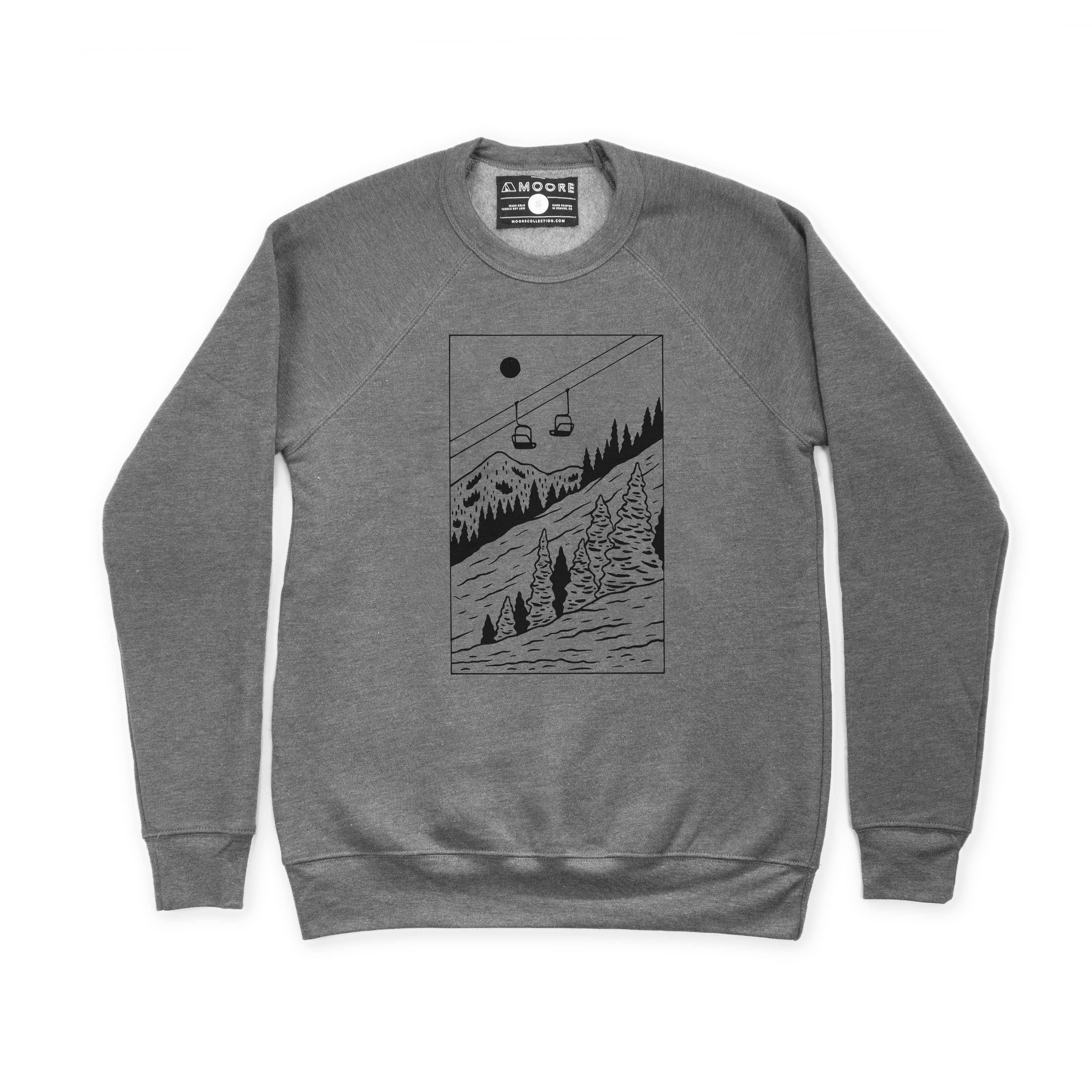 Gray Kids Sweatshirt Monochrome Sweater Organic Child Sweatshirt Gray Sweater Gray Triangles Sweatshirt Stacked Triangles Sweater