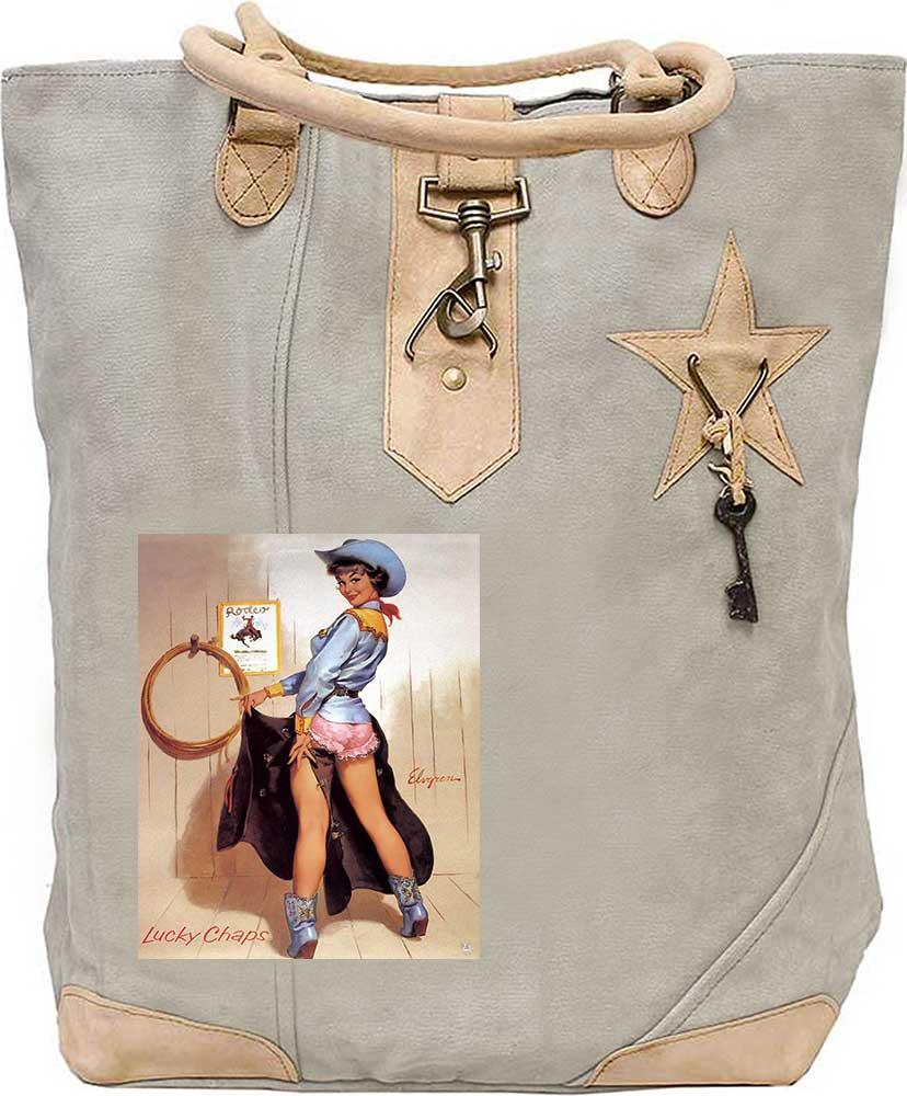 Mermaid Kisses Starfish Wishes Canvas Gift Bag Mermaid Kisses Tote Bag Embroidered Canvas Tote Bag