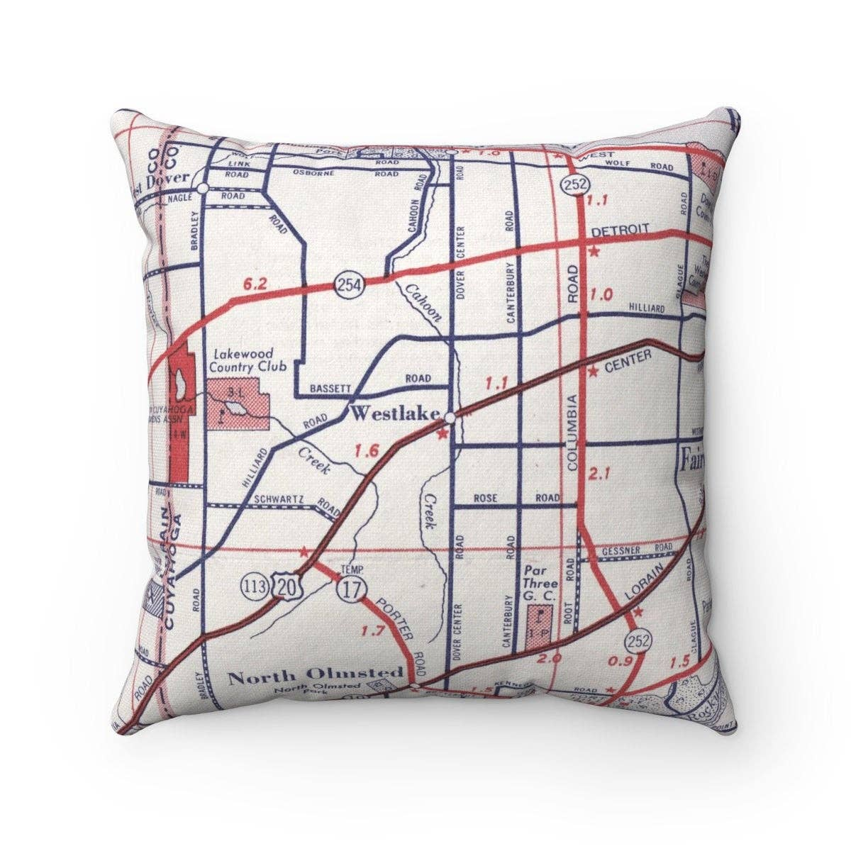 Westlake Double Sided Pillow