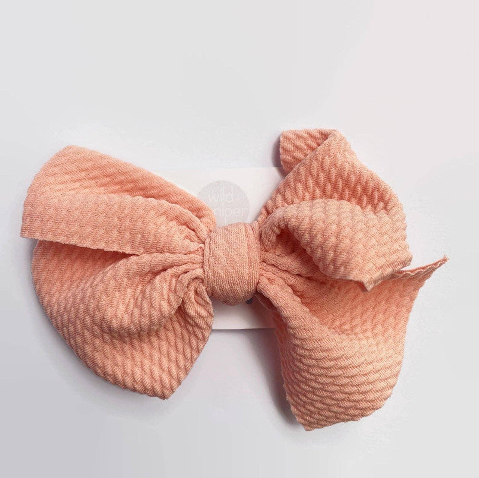 baby bow babygirl hair bow fall bow glitter bow Mustard hair bow rose gold hair bow