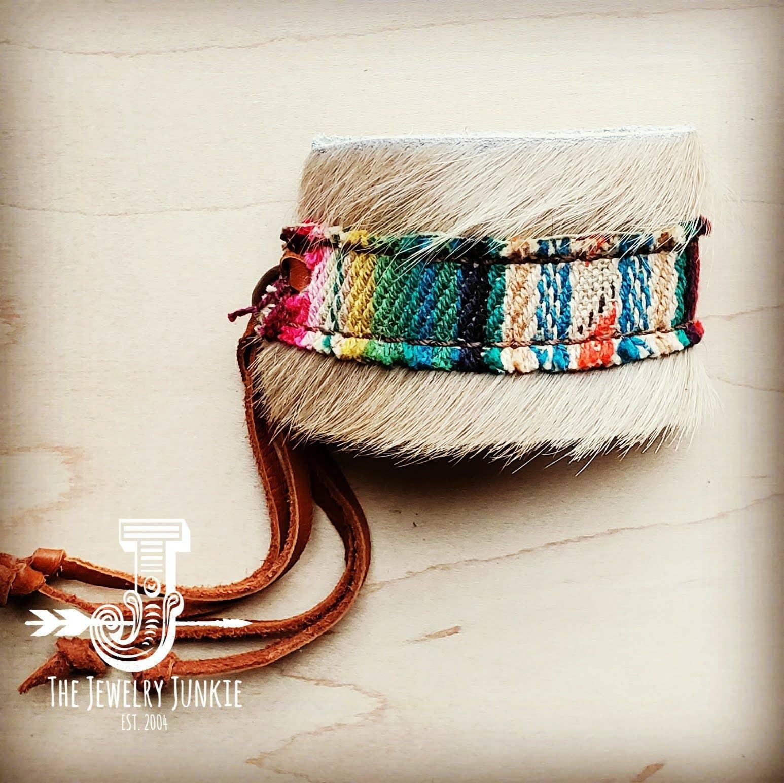 Spirit Body Triangle Bracelet Leather Knit Rope Handmade Style Mind