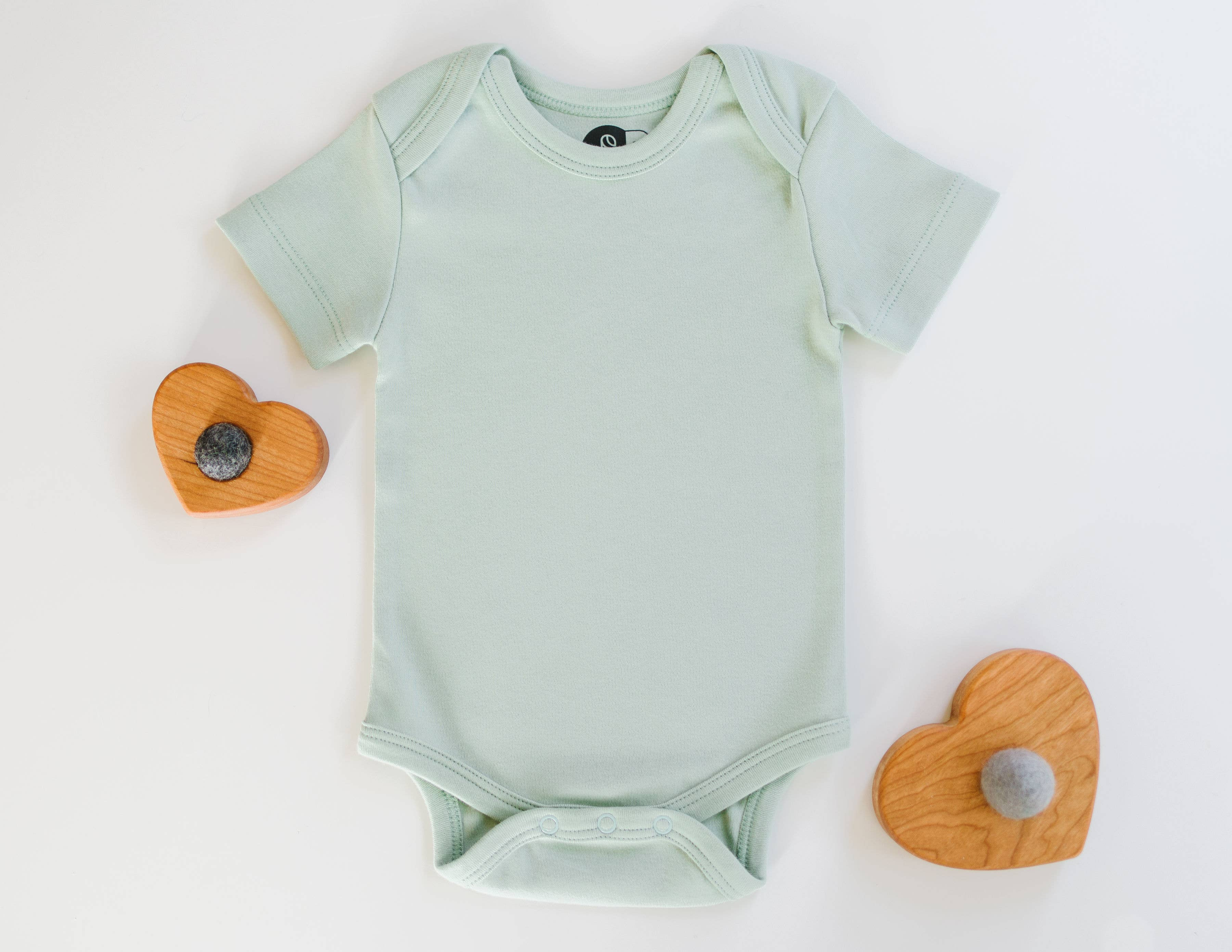 Short Sleeve Cotton Bodysuit for Baby Boys and Girls Fashion Infinity Peace Hope Faith Love Playsuit
