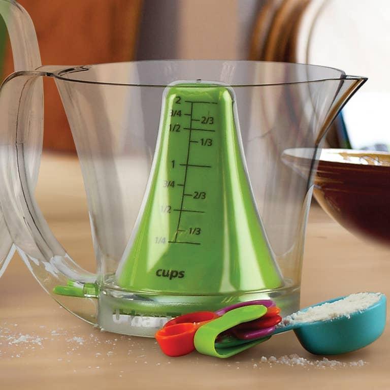 Reverso Plus Measuring Cup Spoon Set 2 Cup Faire Com