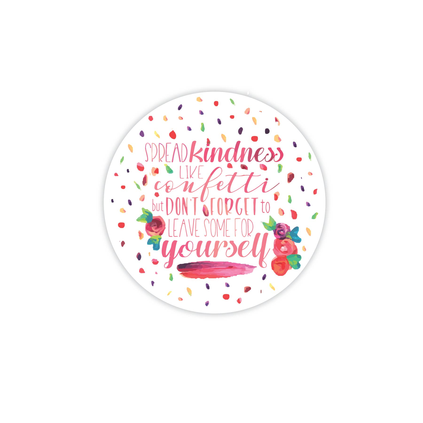 Kindness Small Bumper Sticker or Laptop Decal Bee Kind 3.25 X 4