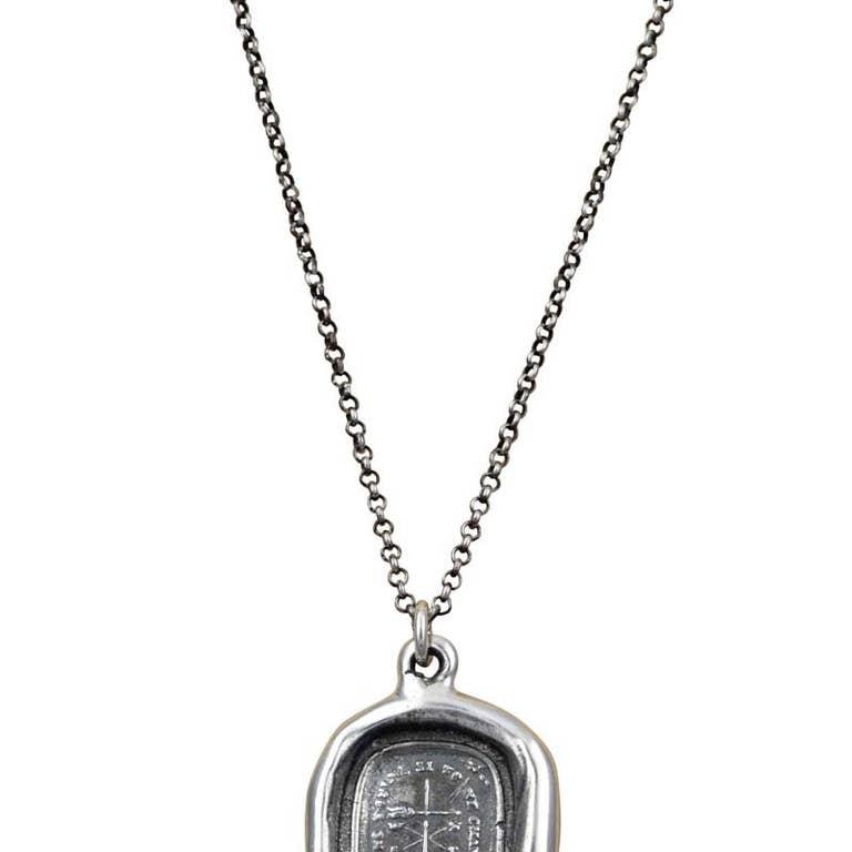 Don T Change Weathervane Wax Seal Necklace Faire Com