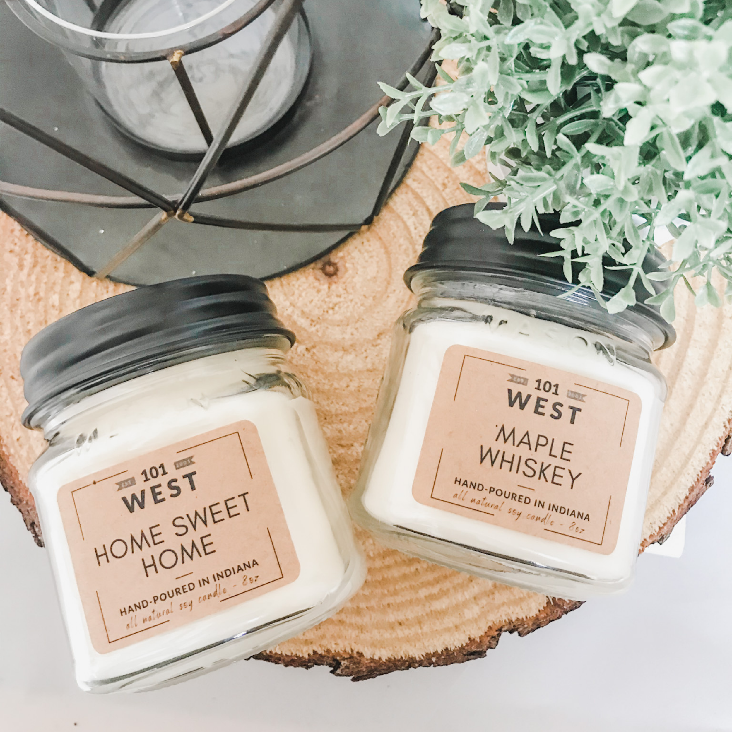 Wax Melts All Natural FROZEN MARGARITA Soy Candle Scented Candle Mason Jar Top Selling Farmhouse Decor Gift Ideas