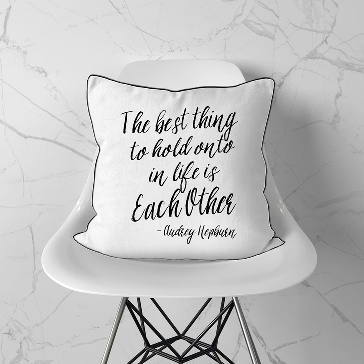 The Best Thing Pillow Cover Faire Com