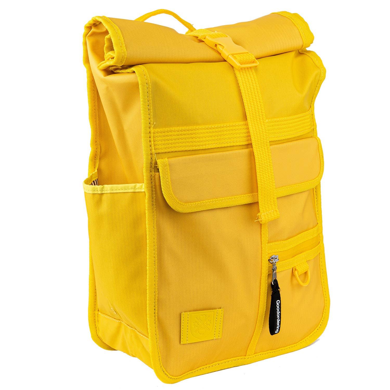 Rucksack cork bag Summer Yellow Drawstring Backpack Yellow backpack canvas backpack travel bag beach bag Summer backpack