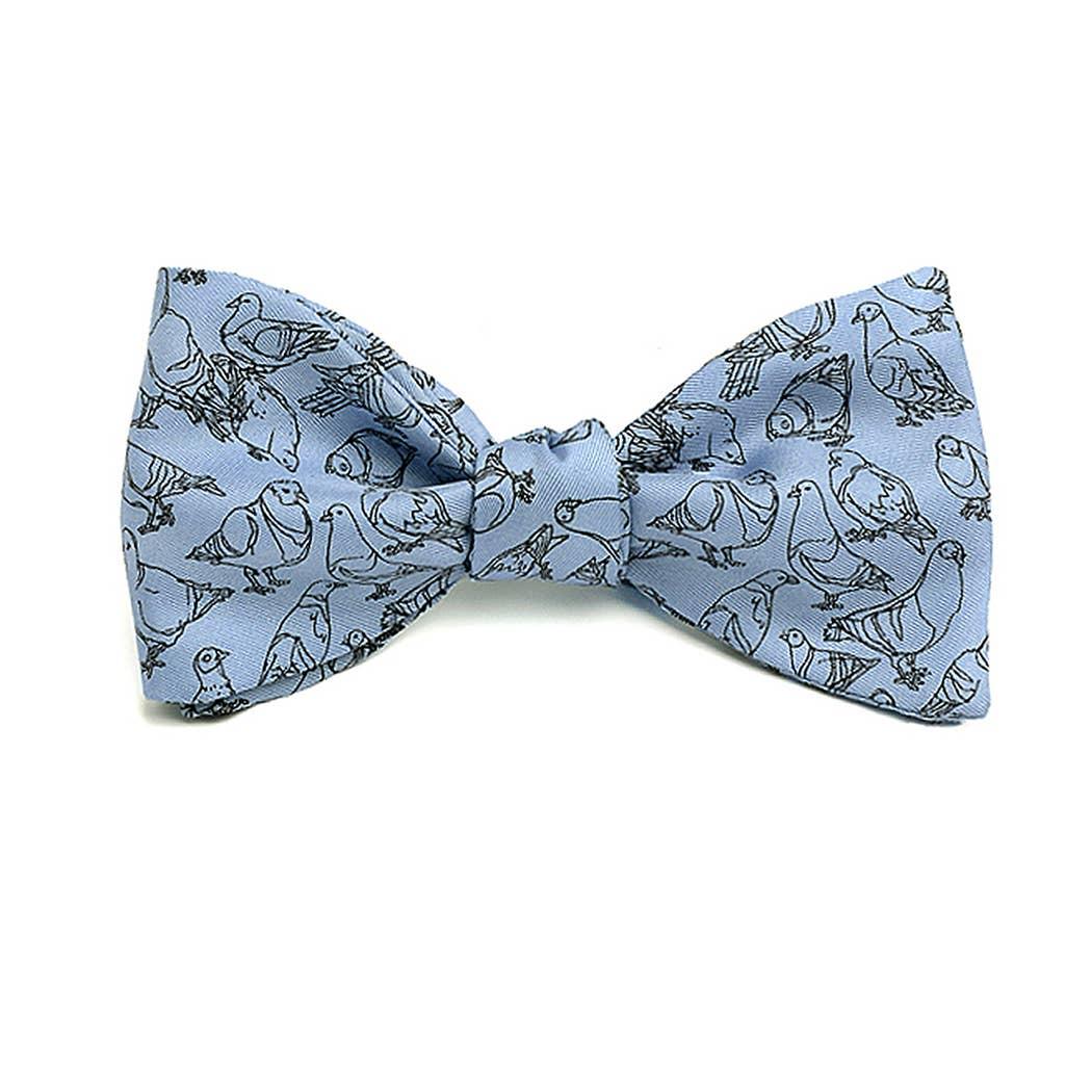 Made in USA Modern Mona Art Themed Tie Josh Bach Mens Silk Necktie