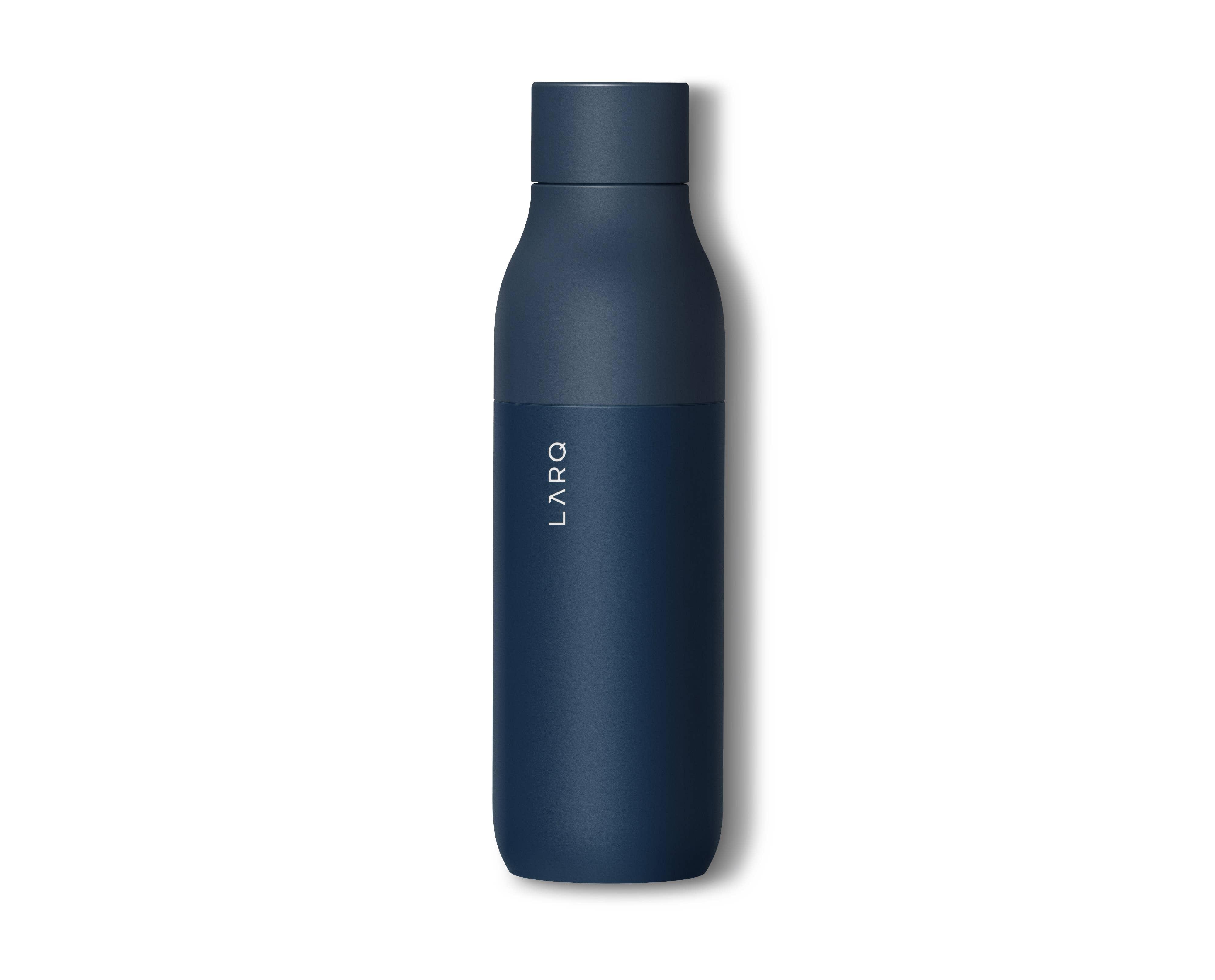 Obsidian Black LARQ self-cleaning bottle 500ml
