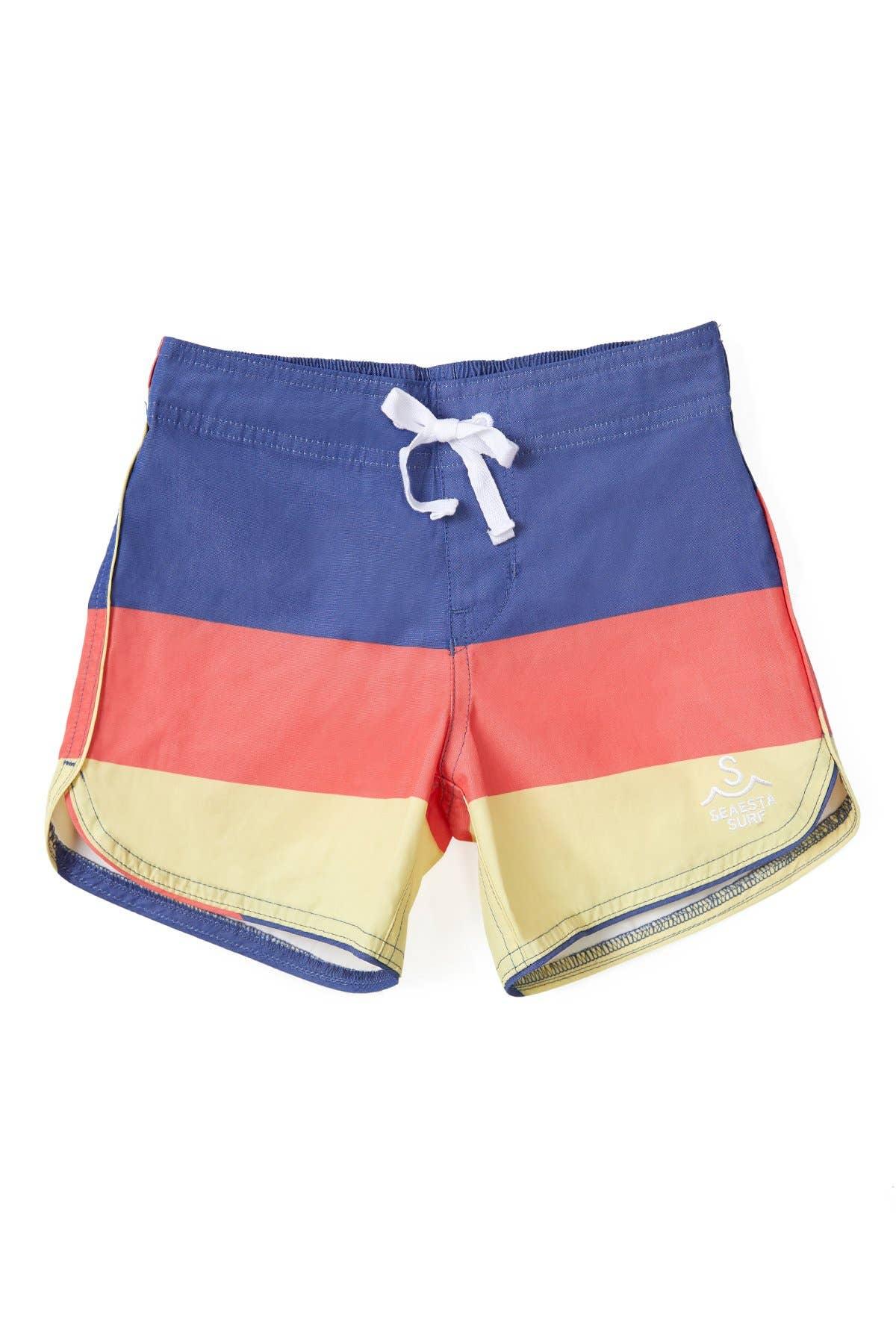 NestYu Mens Relaxed Fit Thin Printing Basic Vogue Beach Board Shorts