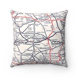 Reversible Solid Pillow Lavender Plum Faire Com