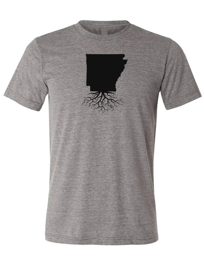 Arkansas Made Surfing Smiling Shark Unisex Shirt by