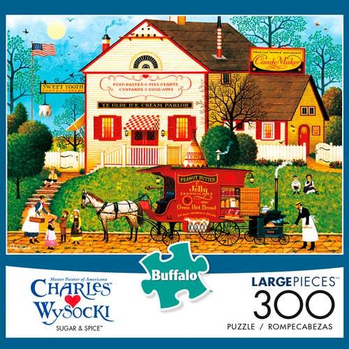 Wysocki Yankee Wink Hollow 1000 Large Piece Puzzle Buffalo Brand New 2000 size