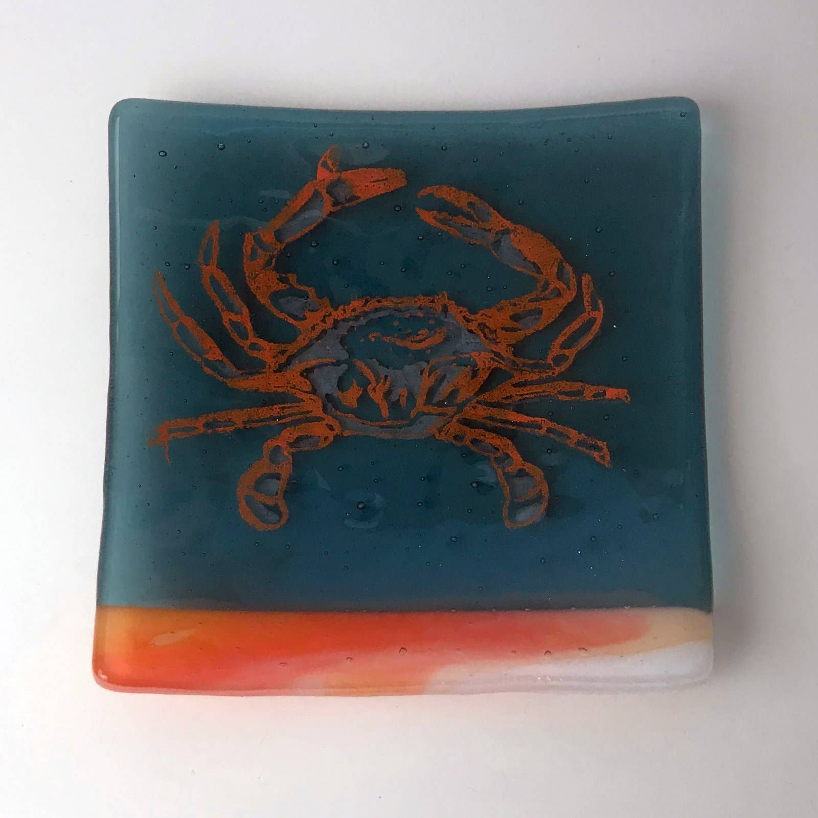 Mixer Fused Glass Catch-all Dish