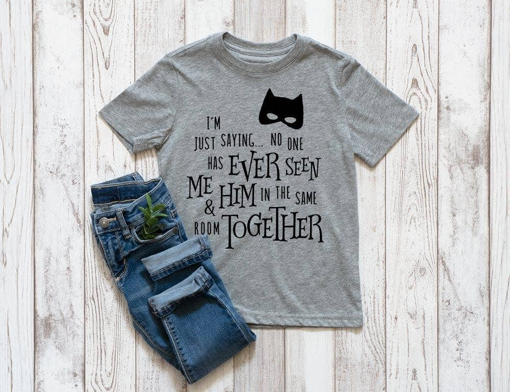 Toddler//Kids Sporty T-Shirt It Wasnt Me It was Either My Godmother Or The Cat