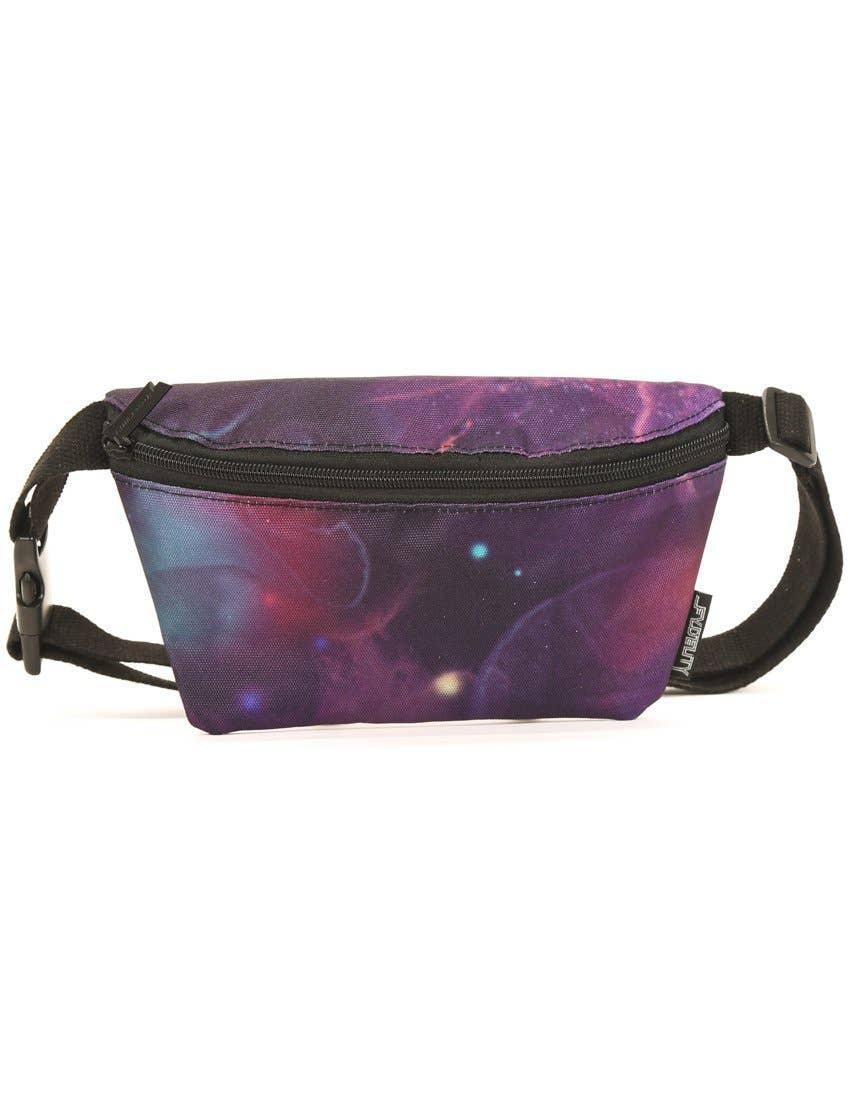 Ultra-Slim Fanny Pack Bum Bags:Galaxy FYDELITY