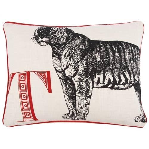 T Tiger Pillow Ebony Case Faire Com